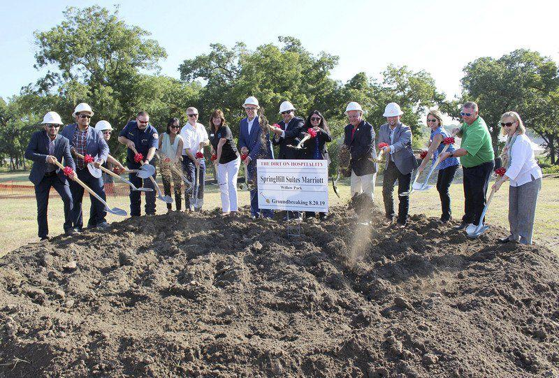 Willow Park North Springhill Suites Groundbreaking Ceremony